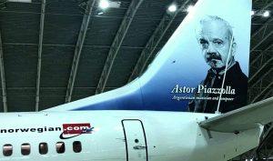 Norwegian Air low cost Piazzolla