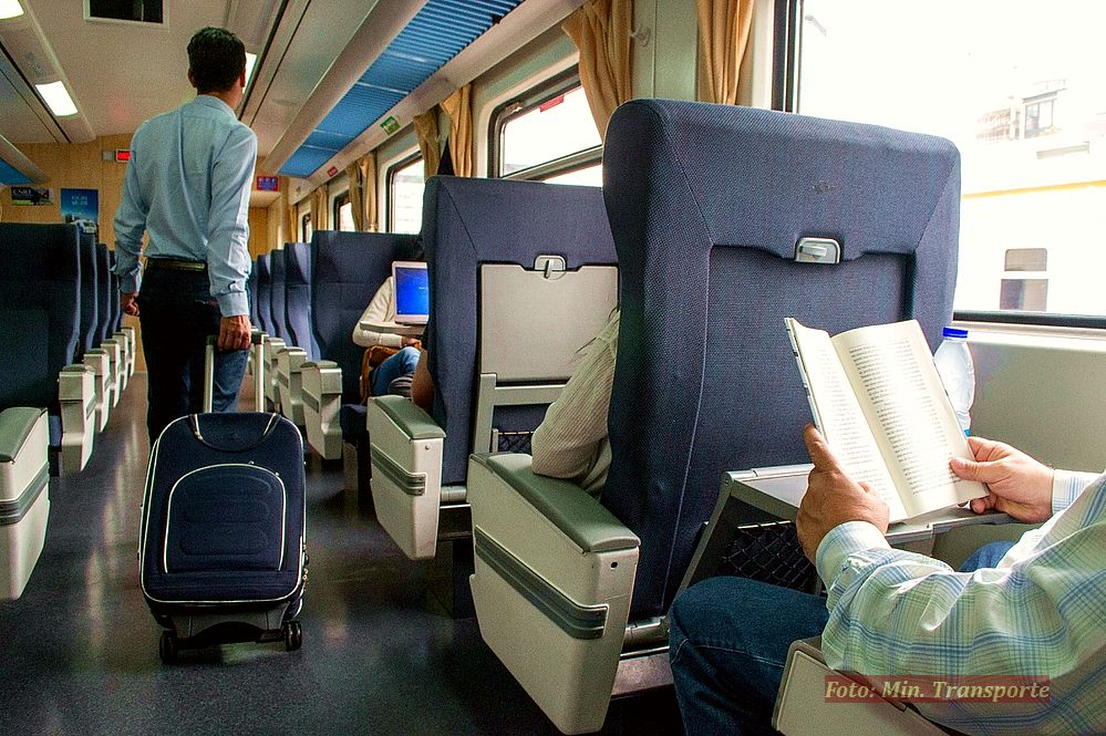 Trenes de larga distancia.