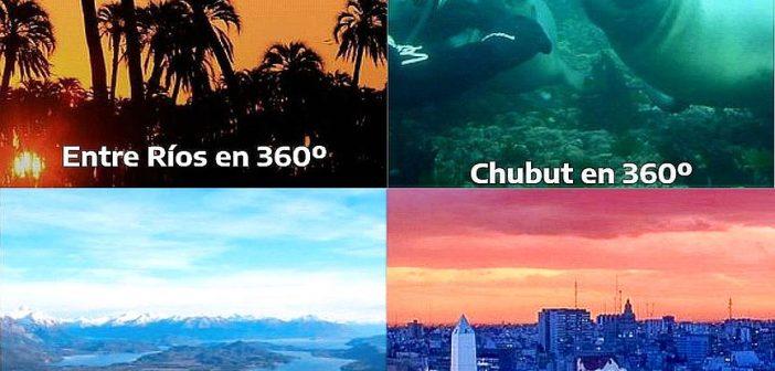 Destinos y atractivos de Argentina en tours virtuales 360º del Ministerio de Turismo para días de cuarentena